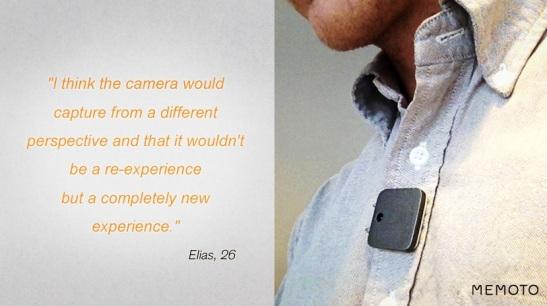 The life-logging camera: poetry or big brother?